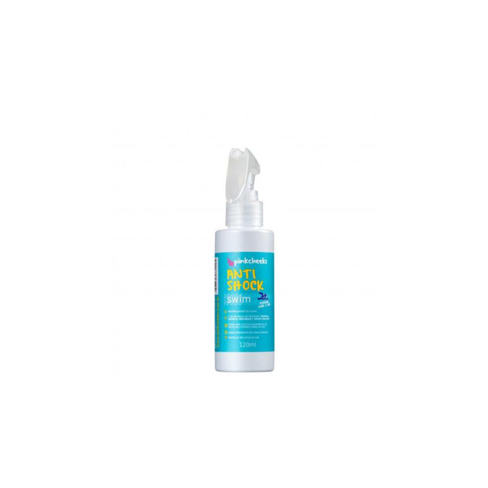 PROTETOR CAPILAR PINK CHEEKS ANTI SHOCK SWIM 120ml (Leave-in Capilar)