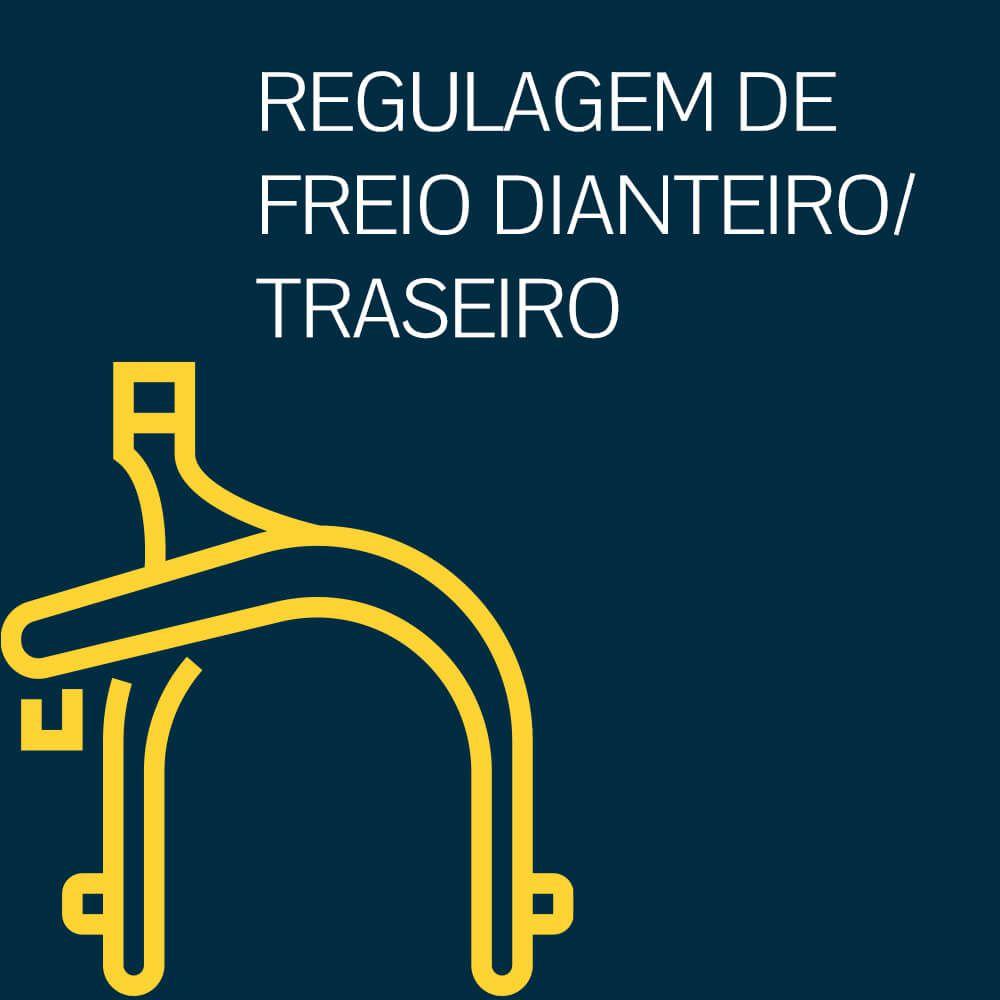REGULAGEM DE FREIO DIANTEIRO/TRASEIRO