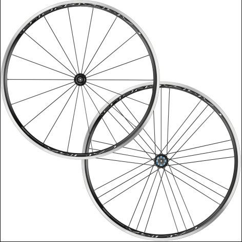 RODA SPEED CAMPAGNOLO CALIMA C17 CLINCHER - FREE HUB CAMPAGNOLO - DIANT/TRAS - WH18-CACFR