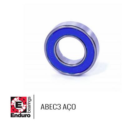 ROLAMENTO ENDURO ABEC3 6703 2RS AÇO (17x23x4)