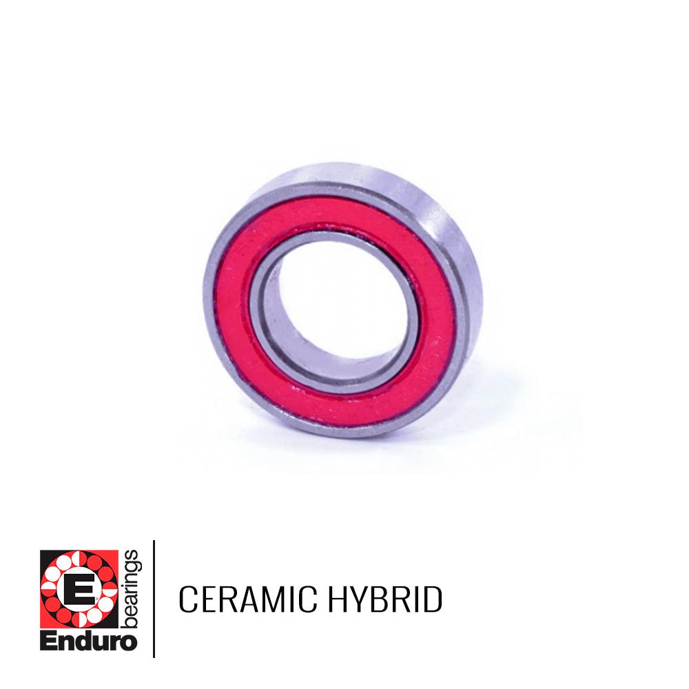 ROLAMENTO ENDURO CH MR 18307 LLB CERAMIC HYBRID (18x30x7)