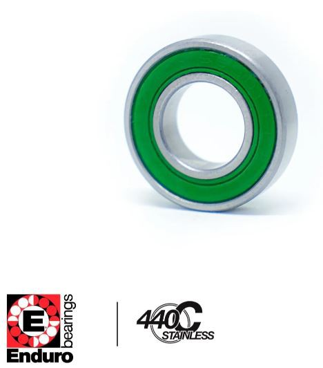 ROLAMENTO ENDURO S608 LLB AÇO INOXIDÁVEL  (8x22x7)