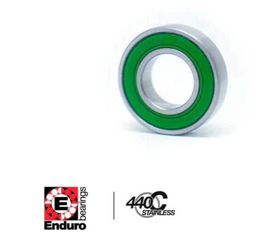 ROLAMENTO ENDURO S6201 2RS C3 AÇO INOXIDÁVEL (12x32x10)