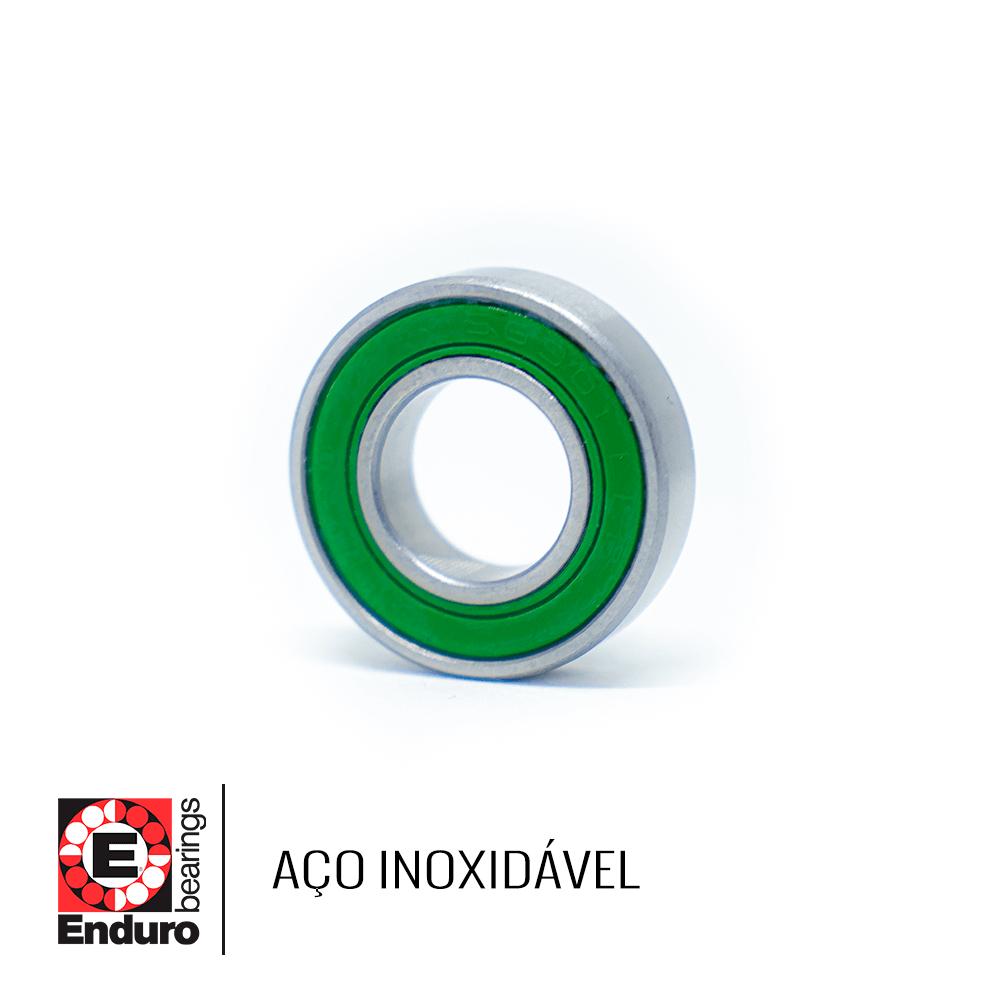 ROLAMENTO ENDURO S6802 LLB AÇO INOXIDÁVEL (15x24x5)