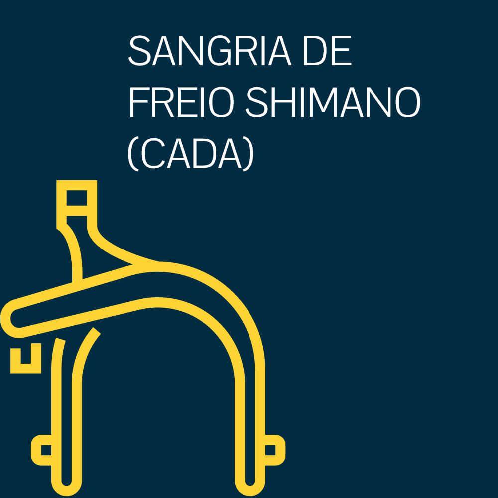 SANGRIA DE FREIO SHIMANO(CADA)