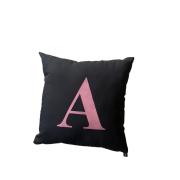 Almofada sublimada letra A