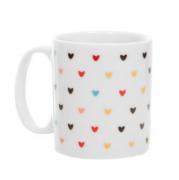 Caneca/xicara americana porcelana coração