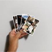Fotos impressas borda branca