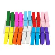 Kit pregadores coloridos - pacote 20 unidades