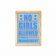 No girls