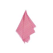 Pano de prato: coração rosa