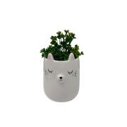 Vaso gato branco