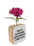 Vaso madeira quadrado: não se fazem