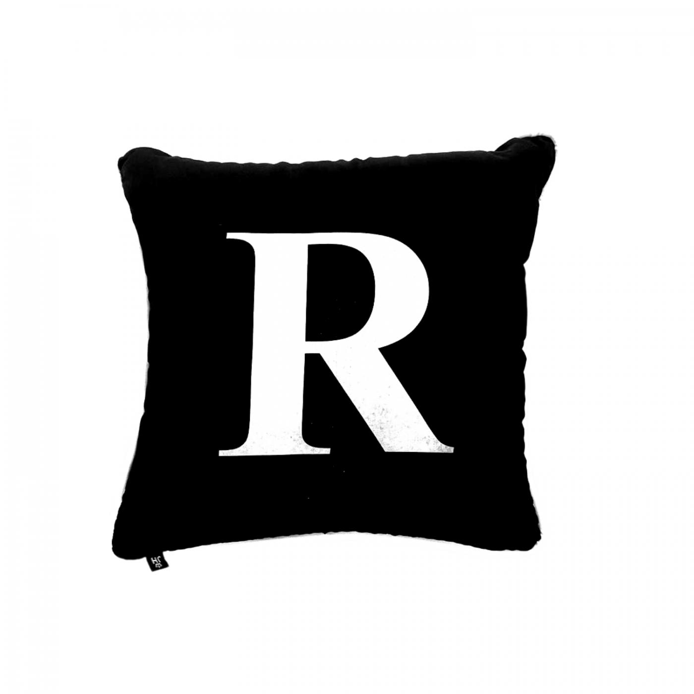 Almofada Inicial personalizada letra em branco