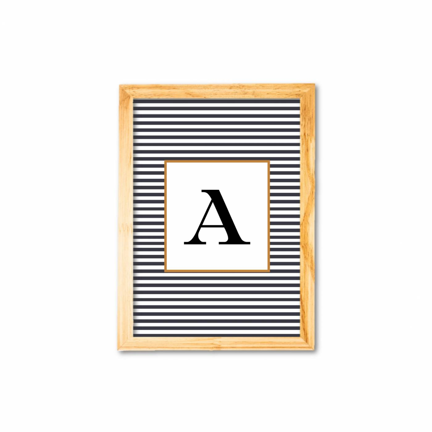 Letras listras (personalizado)