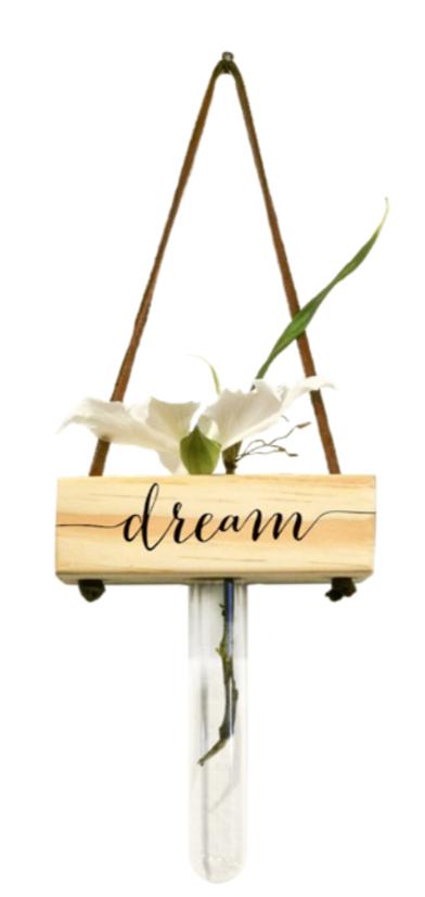 Vaso balanço madeira: dream...