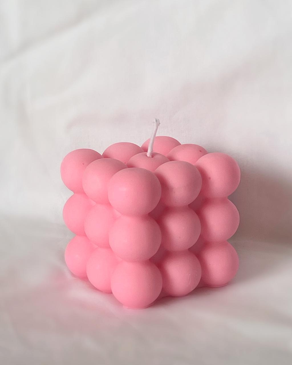 Vela Bubble: Rosa