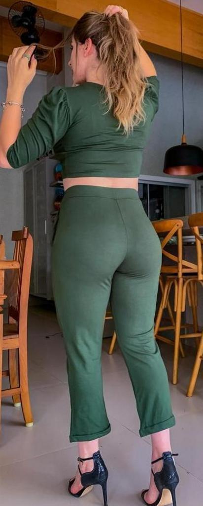 Calça casual princess moletinho leve  - Lamark Fitness