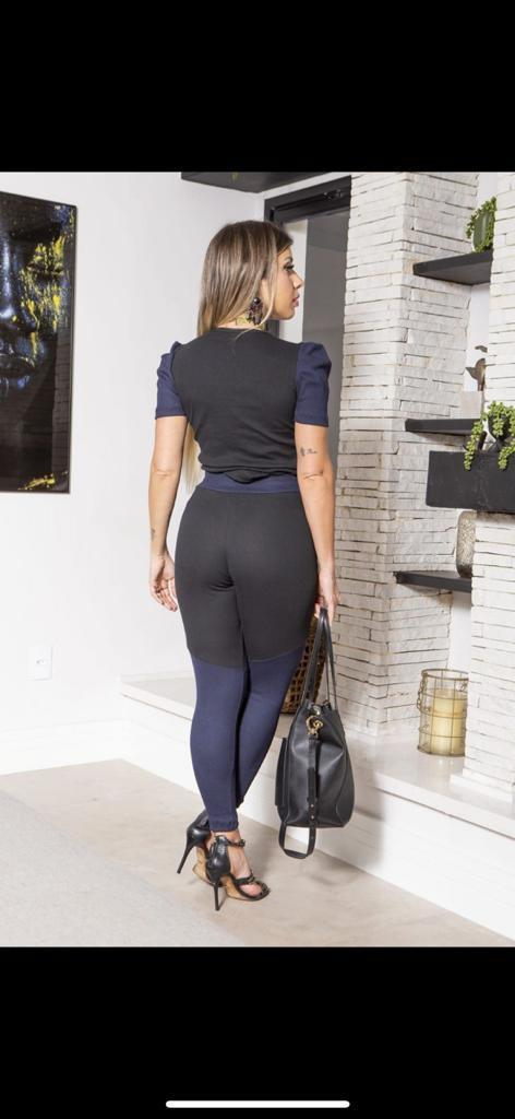 Calça comfy casual ribana  - Lamark Fitness