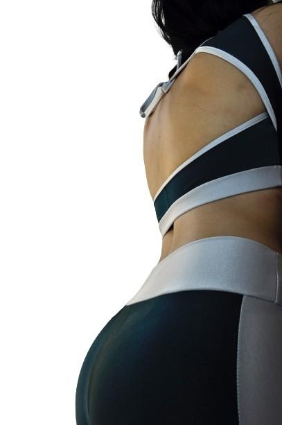 CONJUNTO HARDCORE VERDE  - Lamark Fitness
