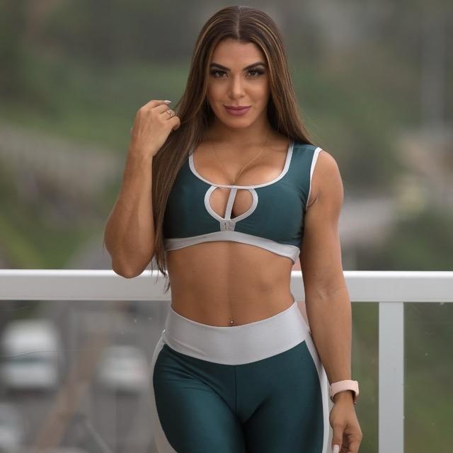 CONJUNTO LADY ROCK  - Lamark Fitness