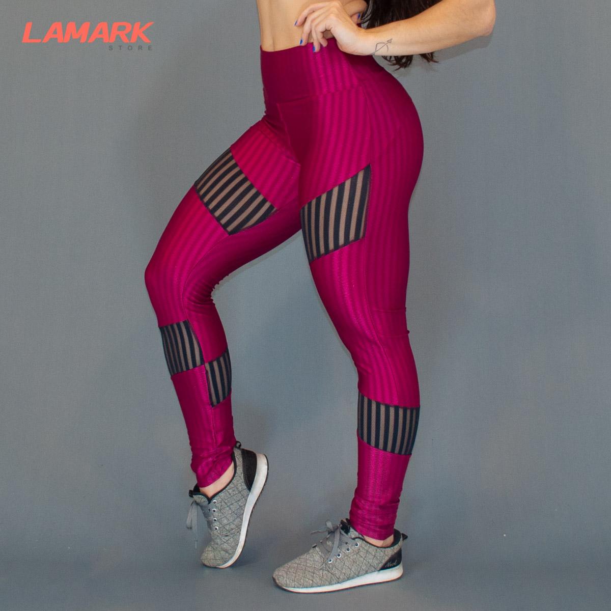 Legging New Vision com tule