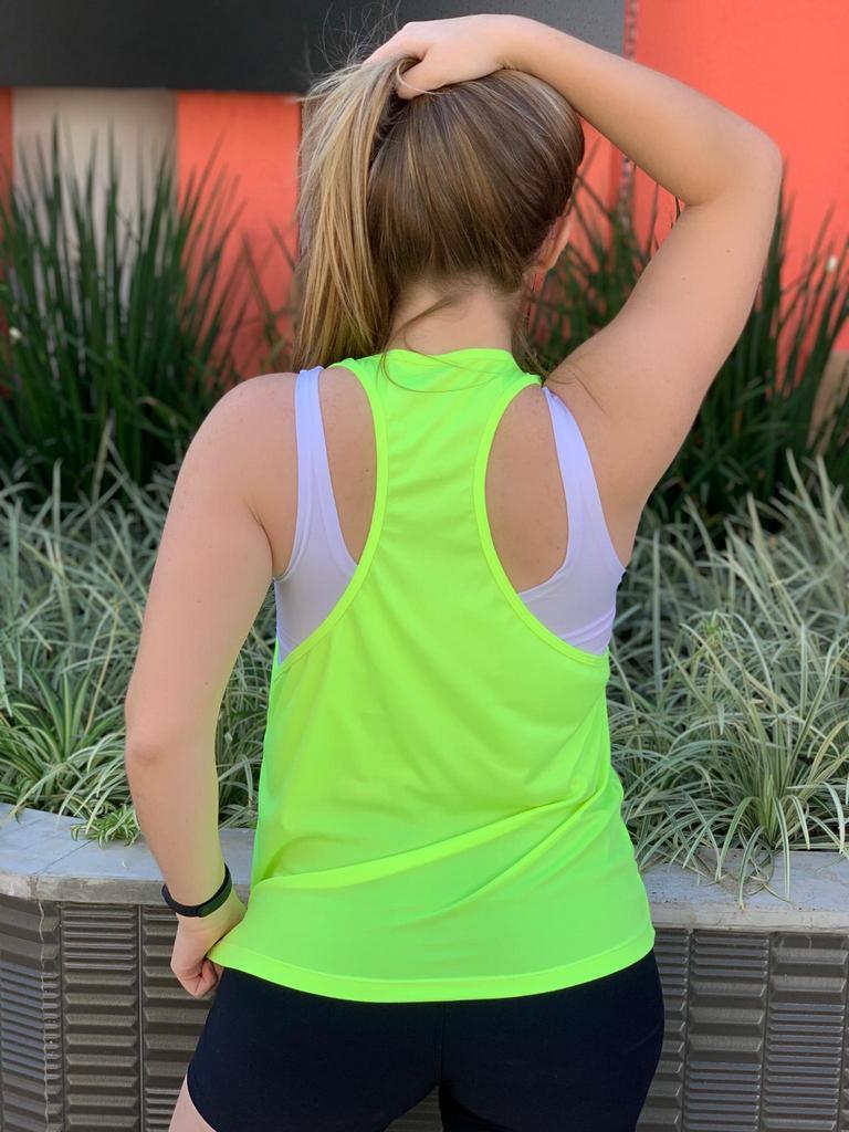 Regata nadador neon de poliéster  - Lamark Fitness