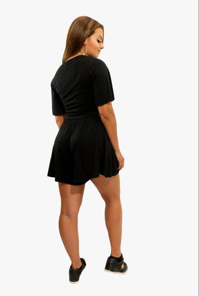 Short larguinho de viscolycra  - Lamark Fitness