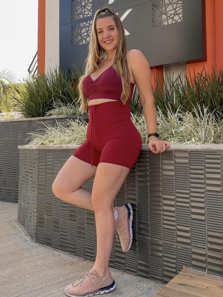 Top nadador com bojo removível  - Lamark Fitness