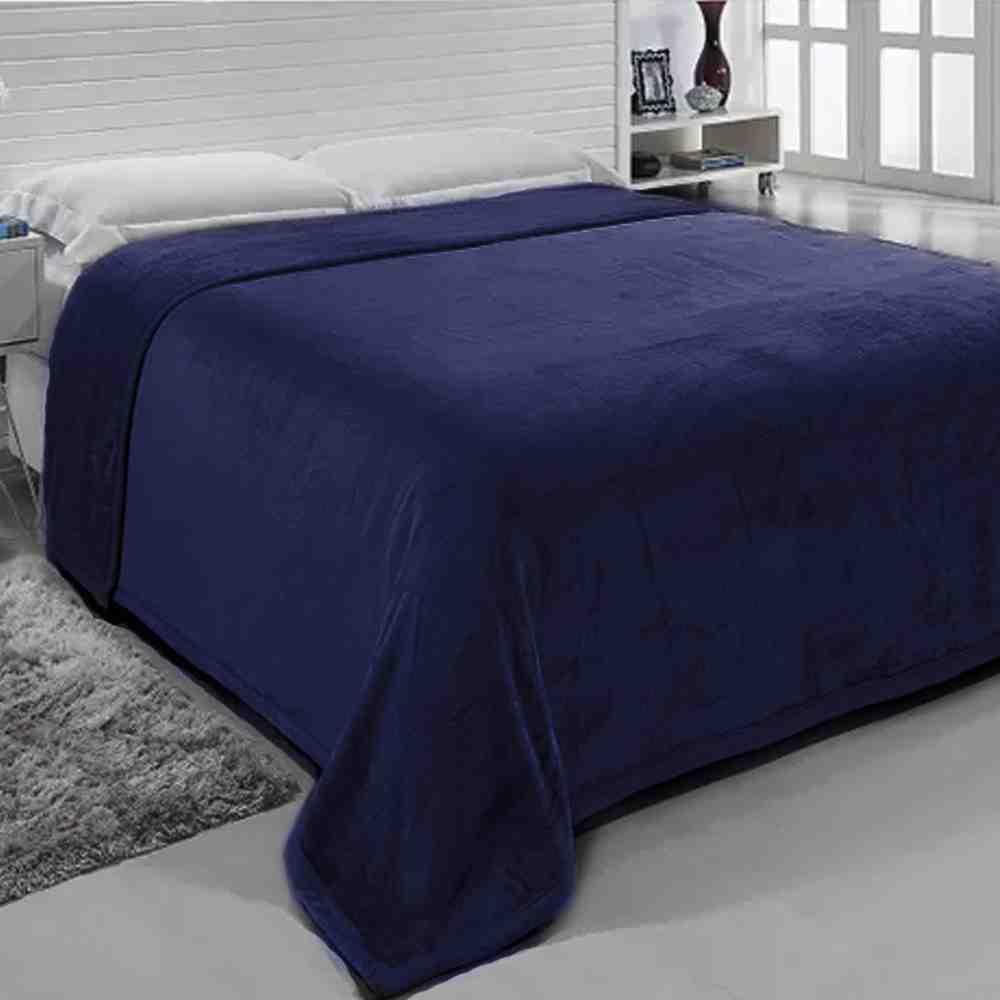 Cobertor 2,60X2,40 Ártico Marinho