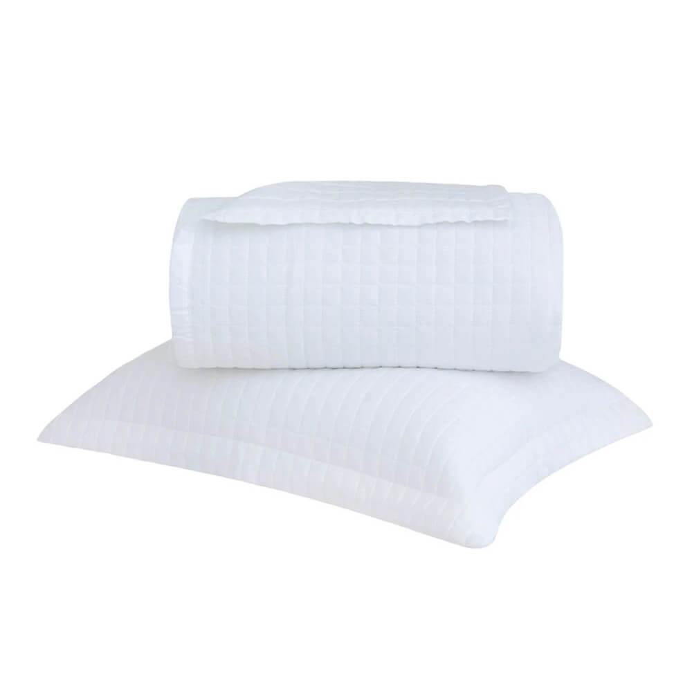 Colcha Solteiro 300Fios New Colors Branco