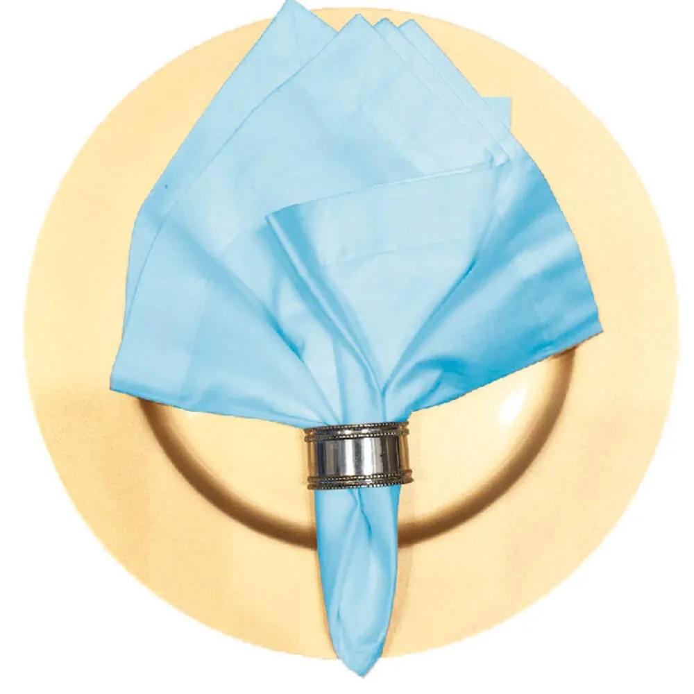 Guardanapo 48x48 Cotton Azul Bebe Claudia Simões Casa