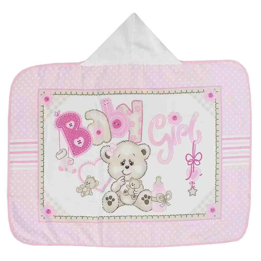Toalha de Banho Baby Girl