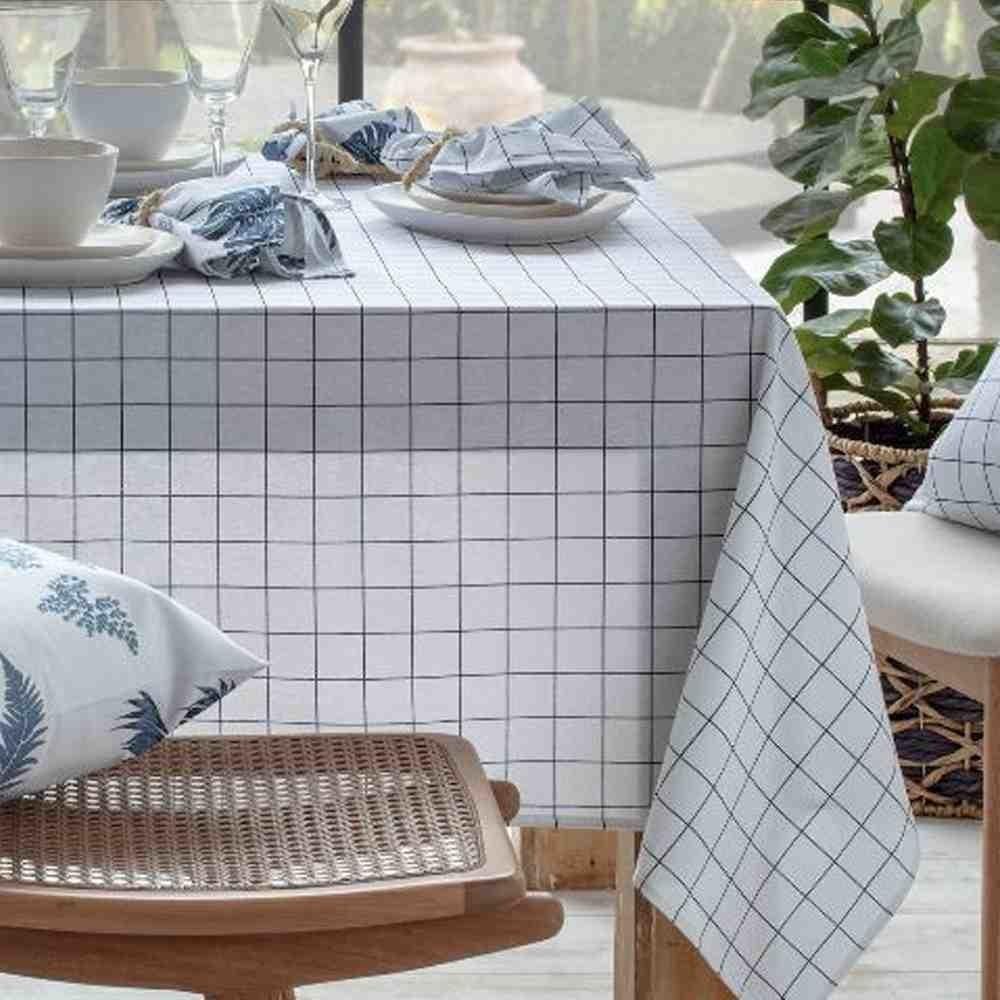 Toalha de Mesa 160x250 Grid
