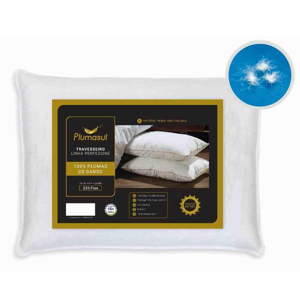 Travesseiro 50X70 100% Pluma de Ganso