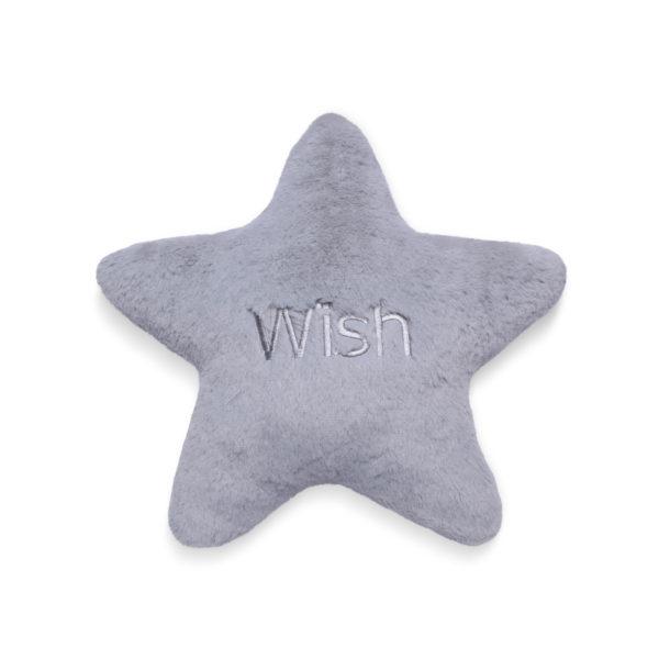 Almofada Estrela Wish Cinza