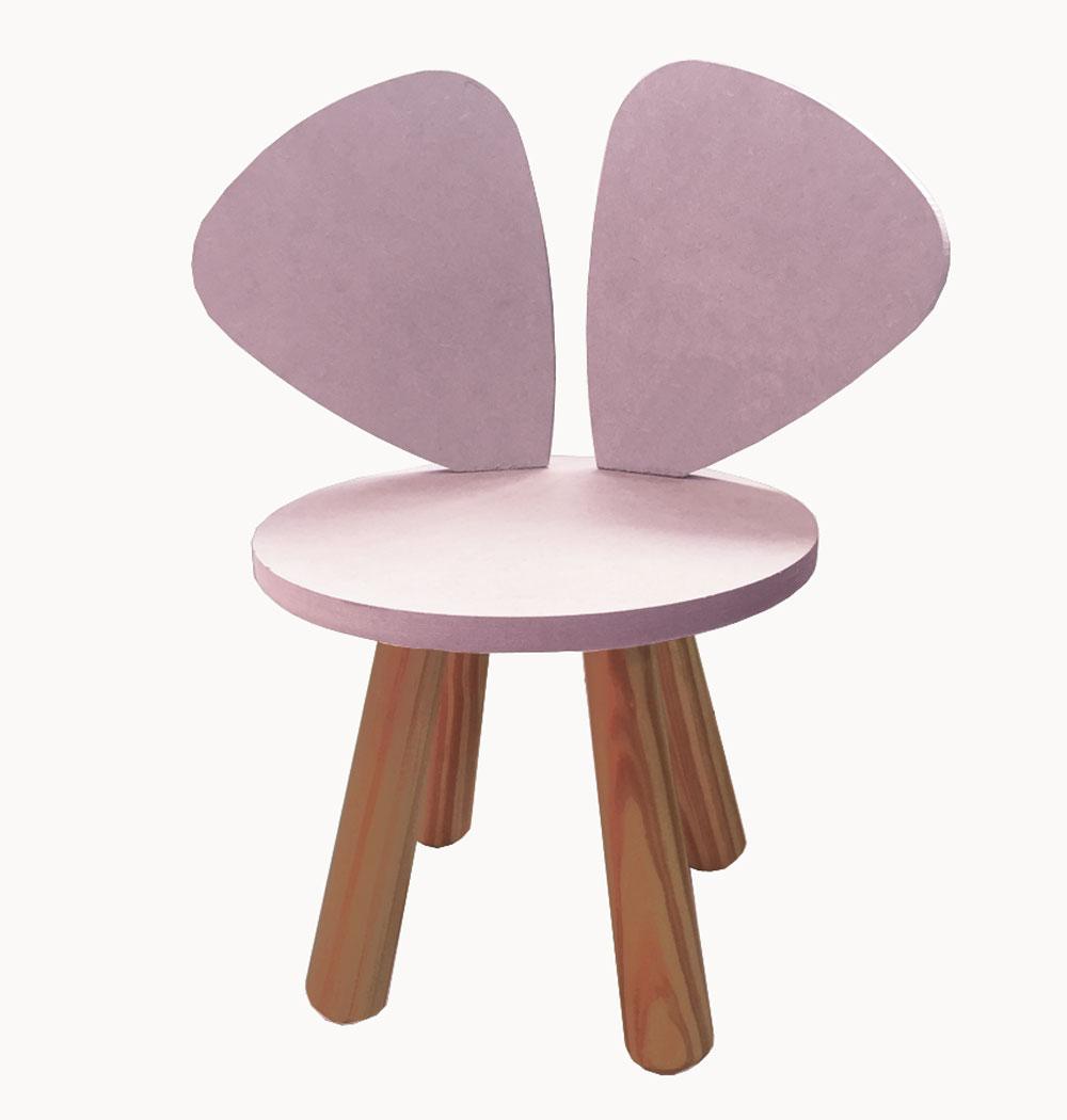 Cadeira Infantil Orelhinhas Auau