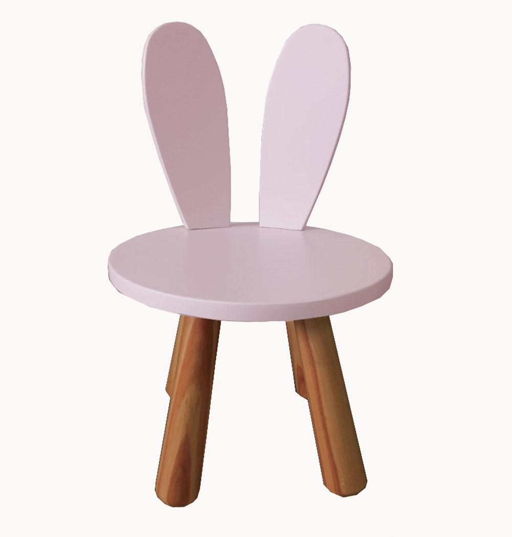 Cadeira Infantil Orelhinhas Coelho