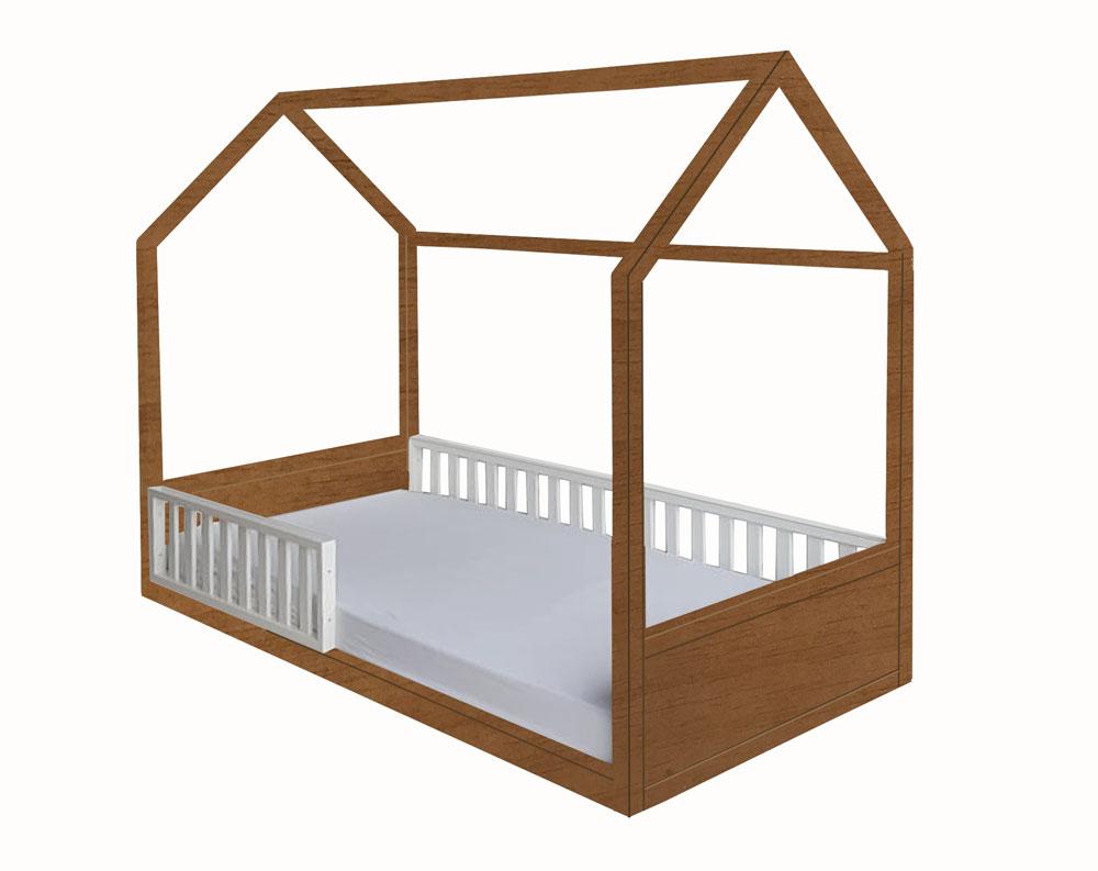 Cama Montessori Solteiro 4 em 1
