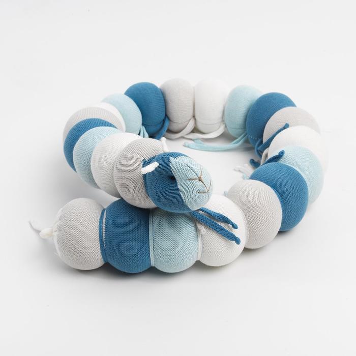 Centopeia de Tricô Azul Malibu Rian Tricô