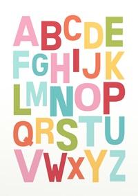 Conjunto de Quadros Letras e Numeros