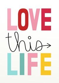 Conjunto Quadros Love this Life
