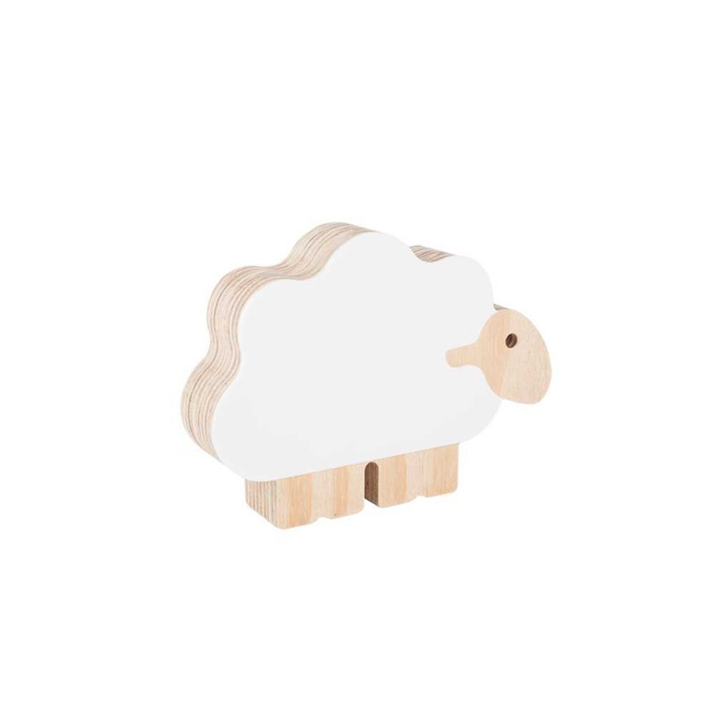 Adorno Ovelha Branca