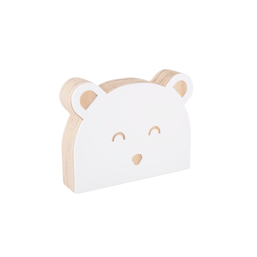 Adorno Urso Branco