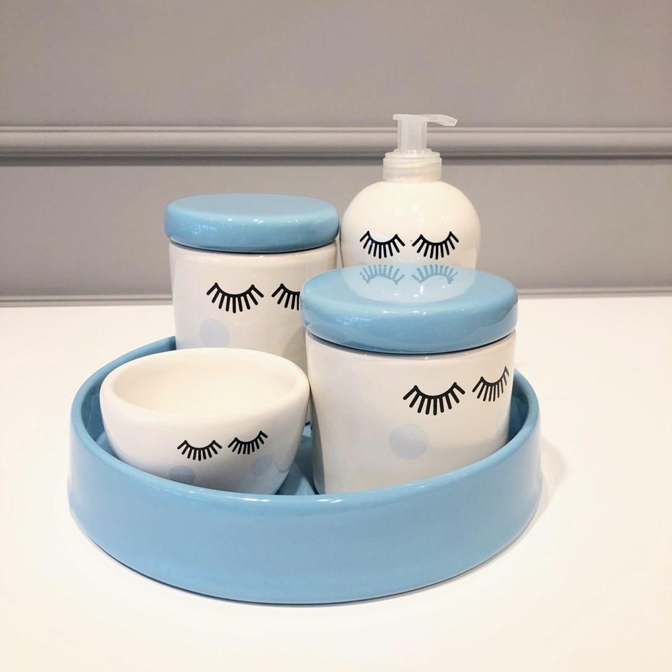 Kit Higiene Cilios Azul