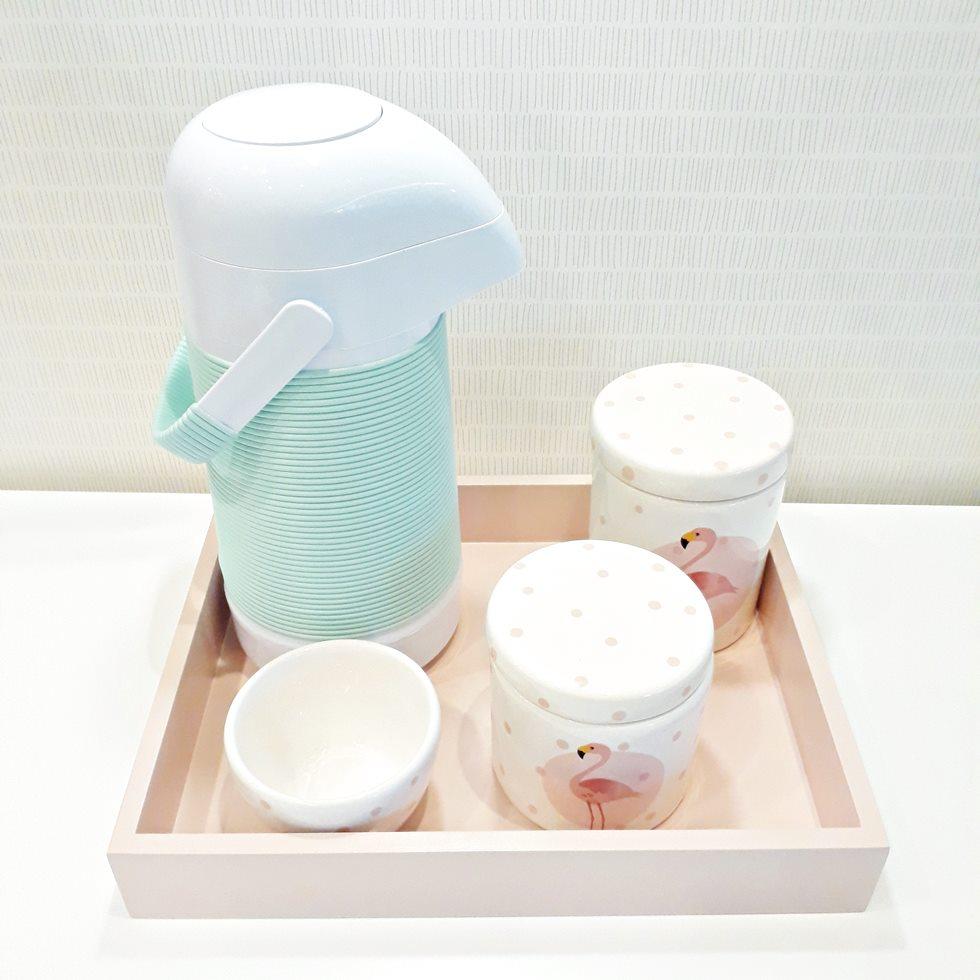 Kit Higiene Flamingo Candy