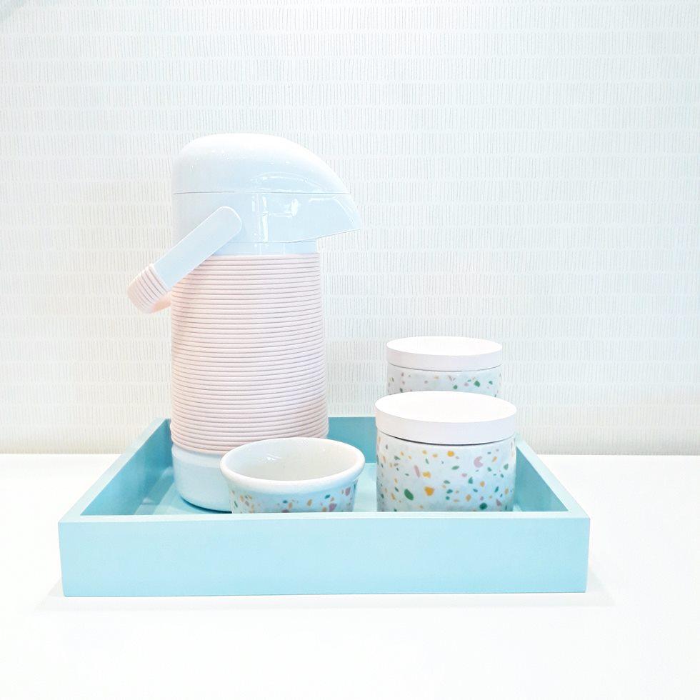 Kit Higiene Mosaico Rosa