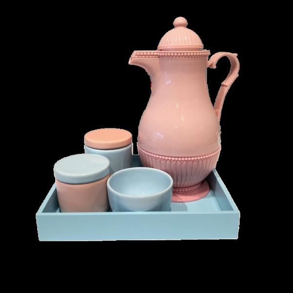 Kit Higiene Rosa e Azul