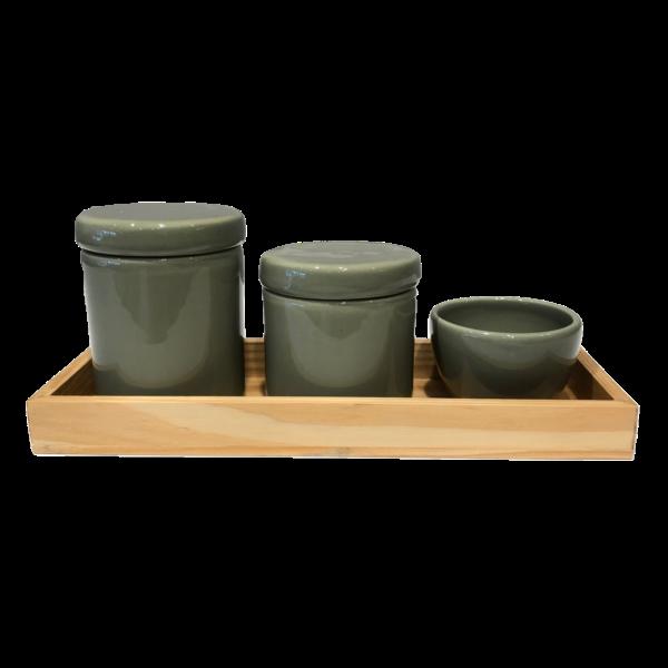 Kit Higiene Trio Verde