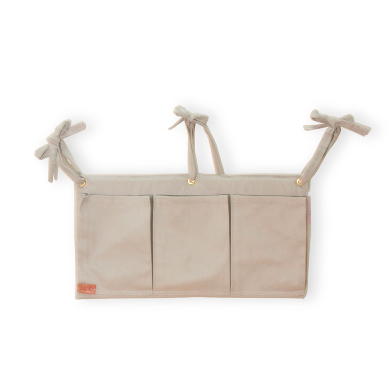 Organizador Porta Fraldas Cinza